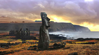Easter Island escape