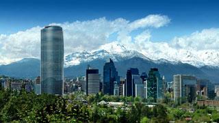 Vibrant Santiago