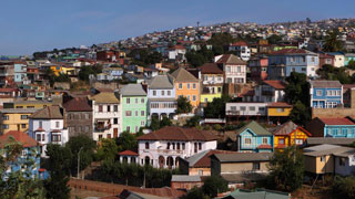 Valparaiso, Vina del Mar and the Pacific Coast