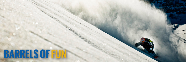 Snowboard and ski Chile