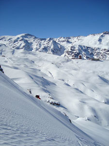 El Colorado's backcountry terrain is among some of the best access in the world.