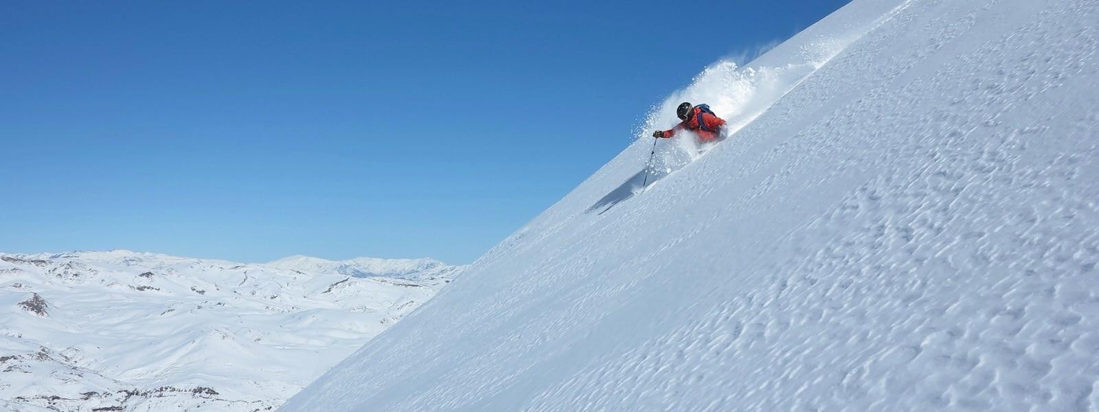el colorado chile ski resort in july