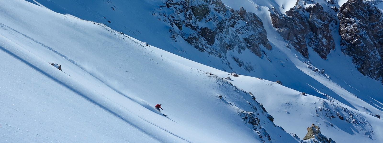 Backcountry Skiing in Las Lenas