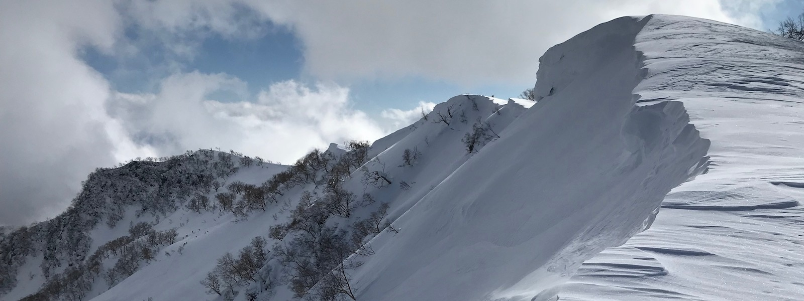 myoko backcountry skiing