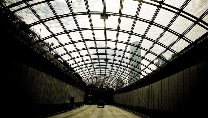 santiago chile tunnel