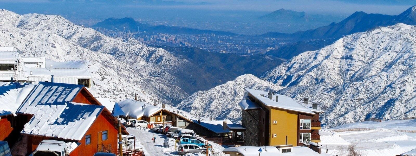 skiing chile