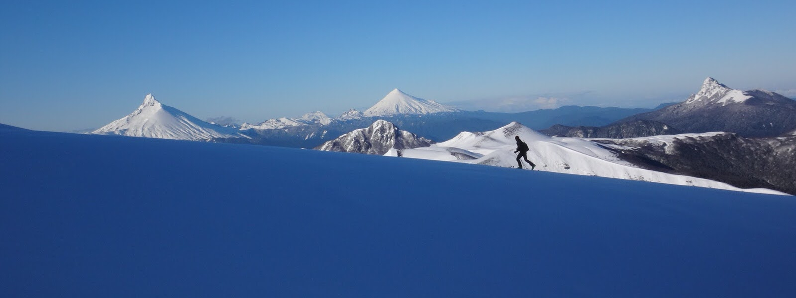 skiing volcanoes in chile