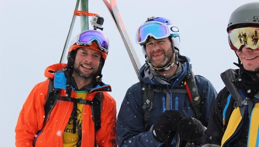 private friends ski trip