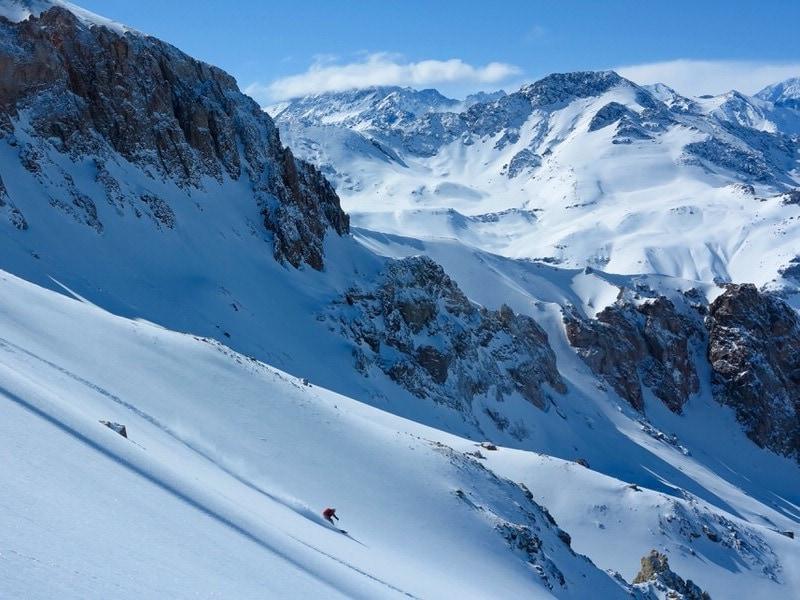 south america backcountry skiing