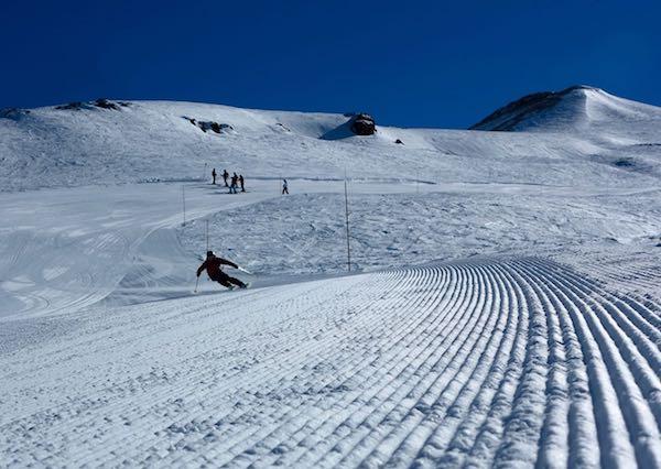 groomed runs in valle nevado
