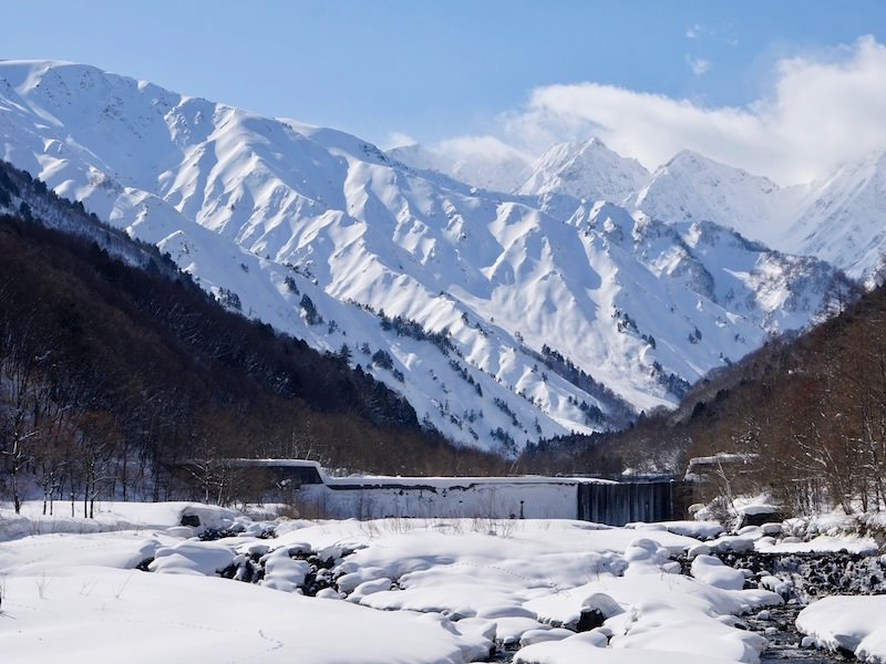 hakuba's japanese alps