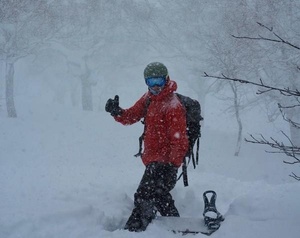 heavy snowfall in japan