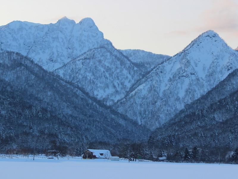 hokkaido snowy landscape