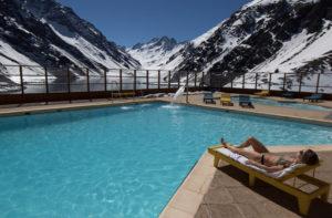 hotel portillo swimming pool