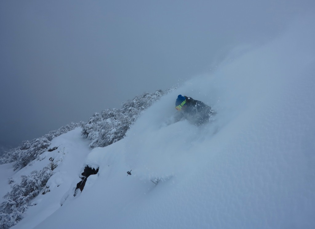 july powder in nevados de chillan