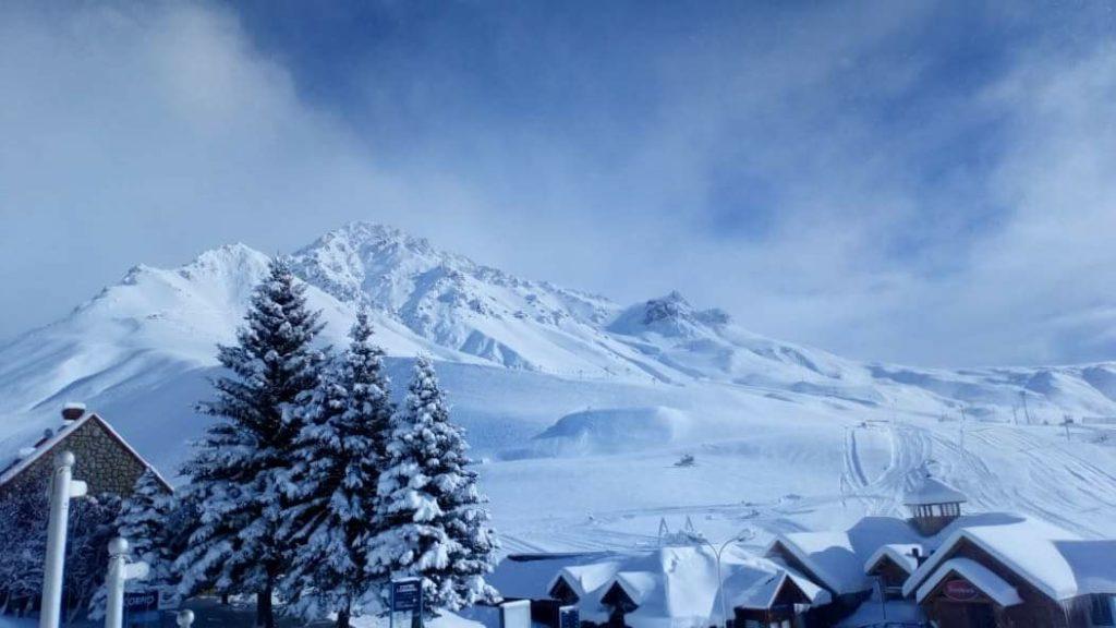 las lenas snowstorm