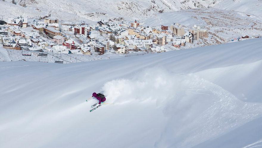 ingrid backstrom skis chile