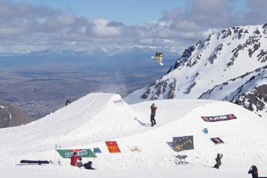 la hoya ski resort in patagonia