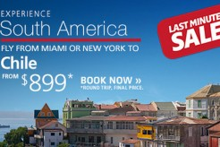 Discount South America Flights From LAN