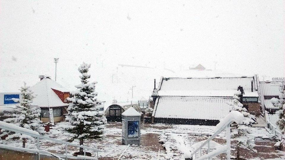 Las Lenas snow in May