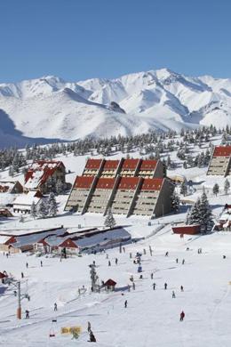 las lenas argentina ski village