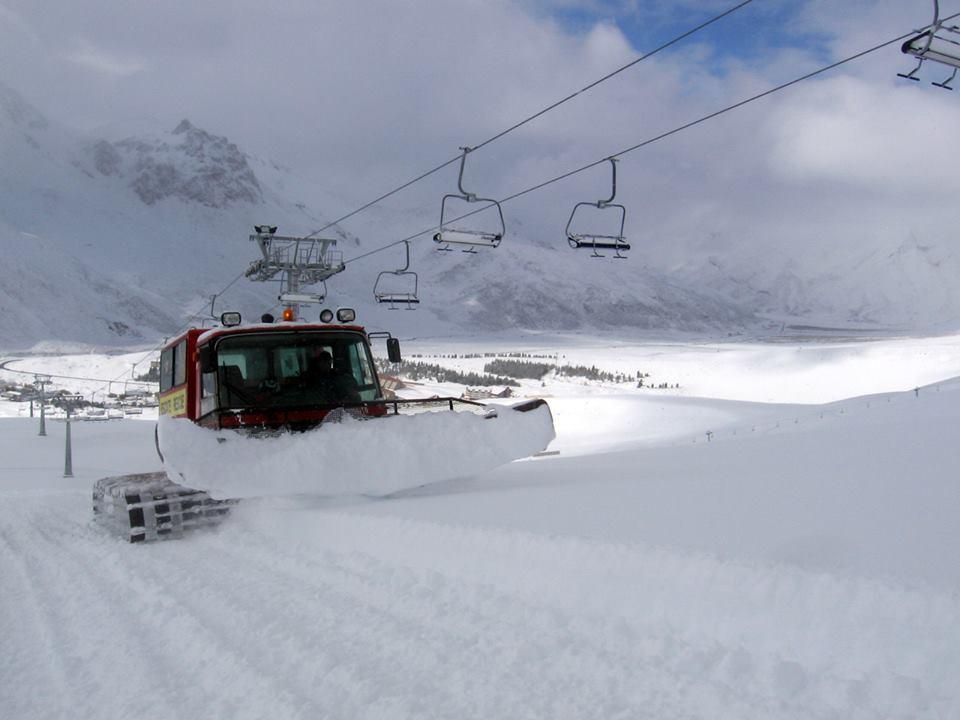 snow in argentina