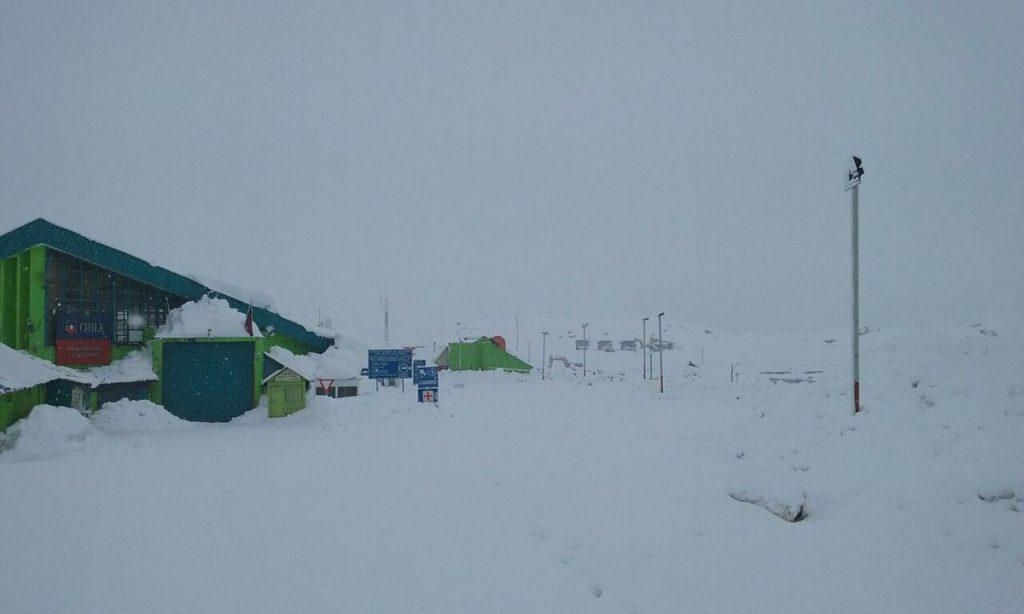 libertadores snowing