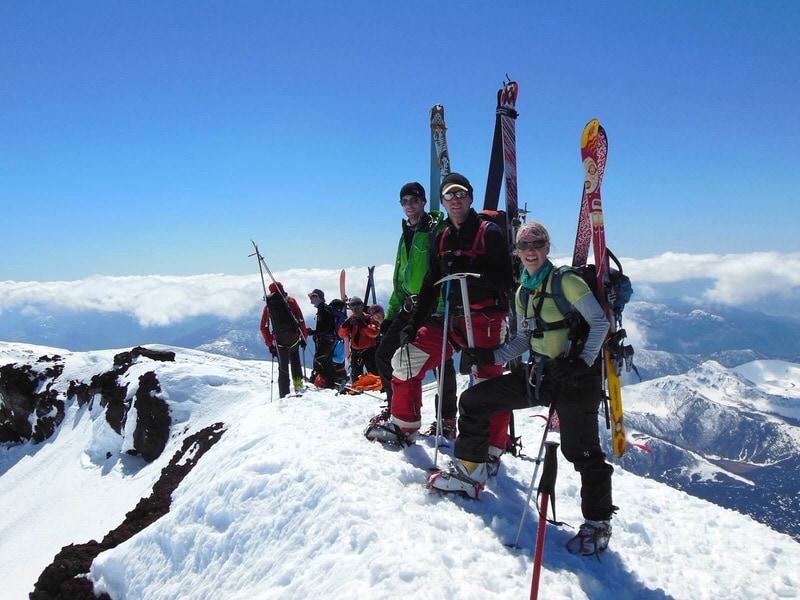 volcano lonquimay summit