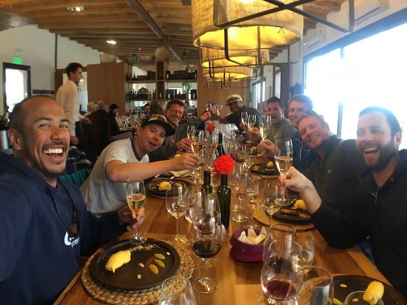 lunch in mendoza argentina