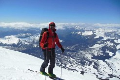 Chile Volcanoes Backcountry Touring