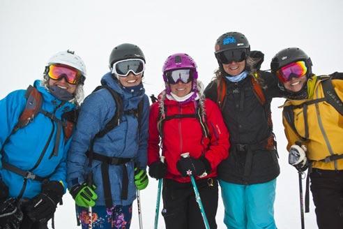 Jess McMillan's Women's Adventure Ski Camp