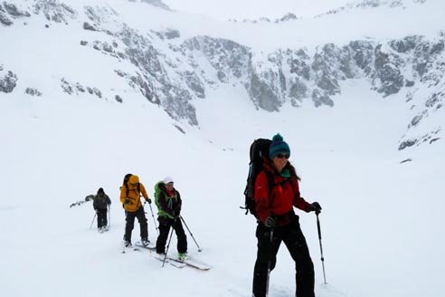 Patagonia Hut to Hut Backcountry Touring