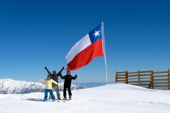 Ski Progression in Chile