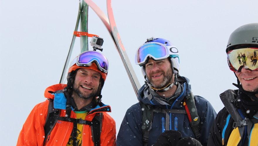 off piste ski tours