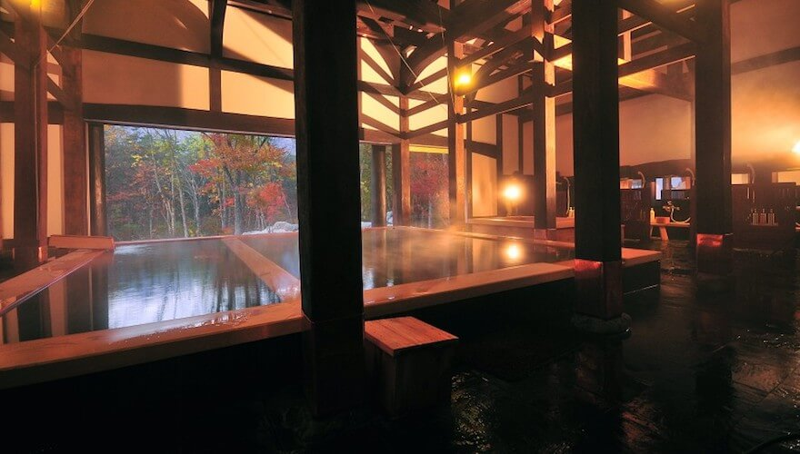 onsen in hakuba valley