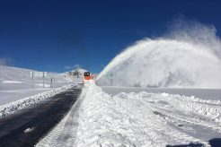 First May 2018 Snowfall in the Andes of Chile and Argentina