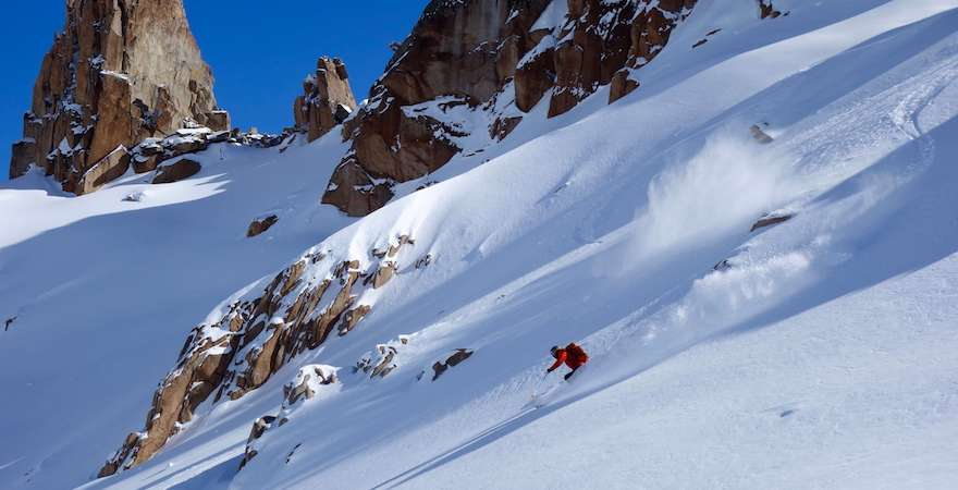 patagonia backcountry hut skiing