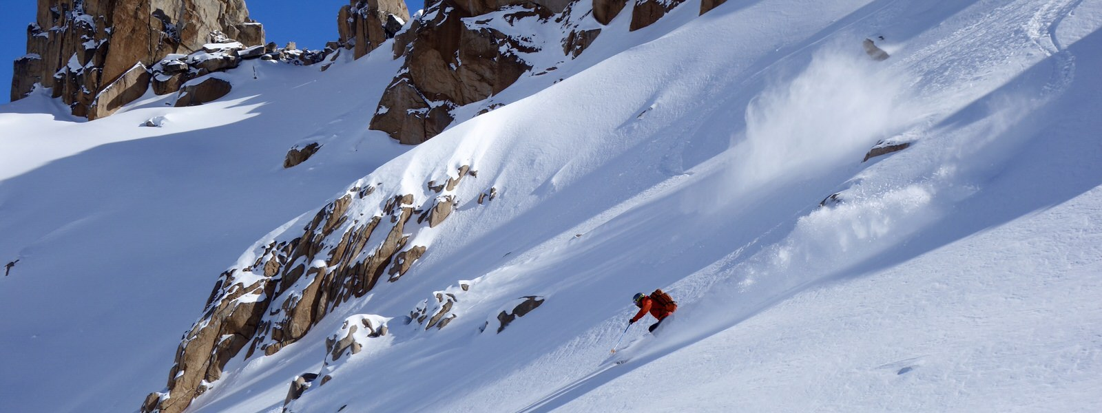 patagonia hut skiing tour