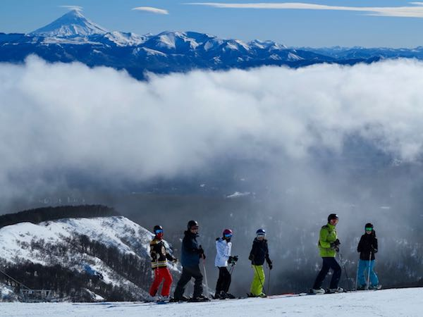 patagonia ski trip