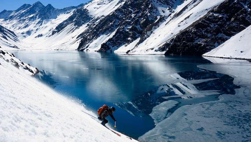 skiing portillo in chile