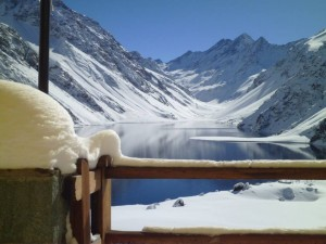 summer ski resort Portillo