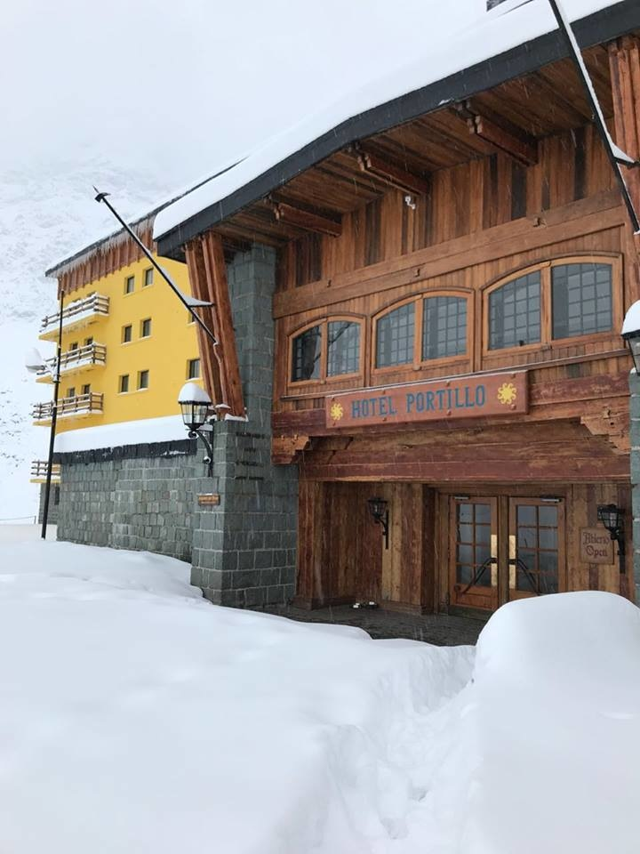 portillo hotel snow