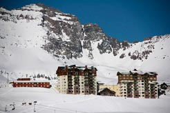 Valle Nevado ski reservations