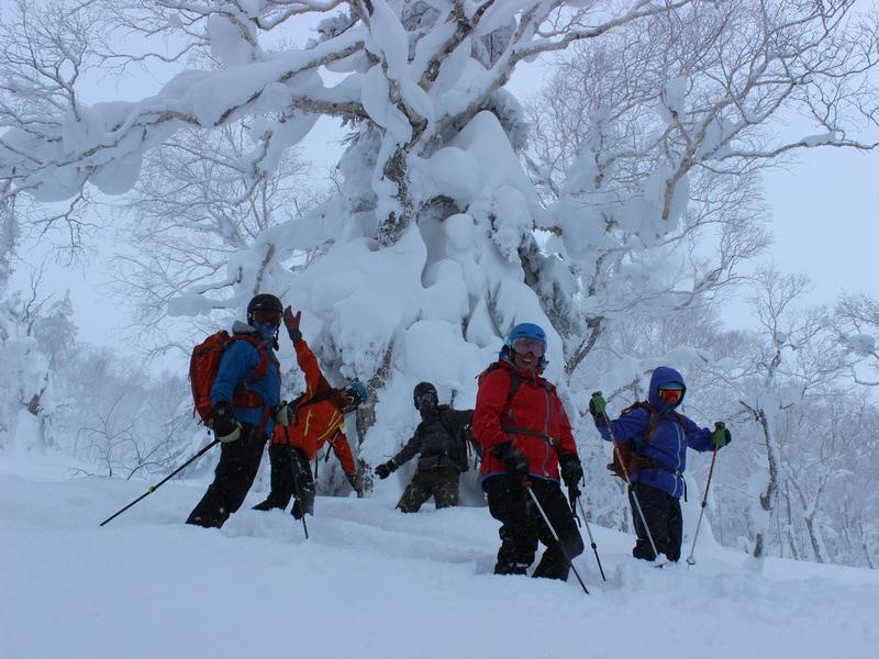 samurai ski tour crew