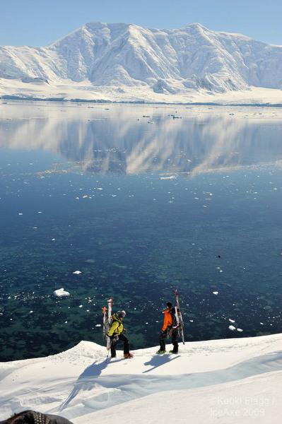 ski antartica
