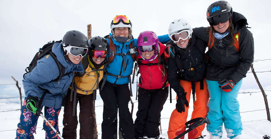 adult ski camp in chile