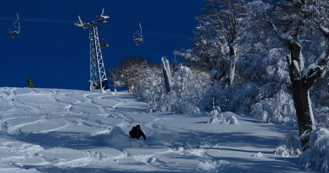 Learn new powder skiing skills this summer in beautiful Patagonia, Argentina