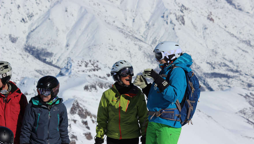ski progression trips in chile and argentina