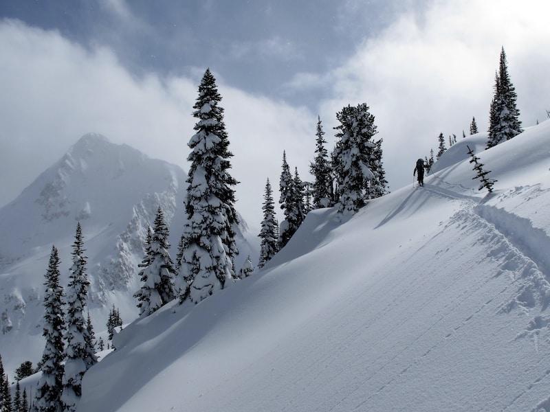 ski touring in canada