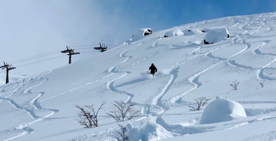 south america skiing
